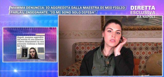 Mamma aggredita a scuola a Napoli