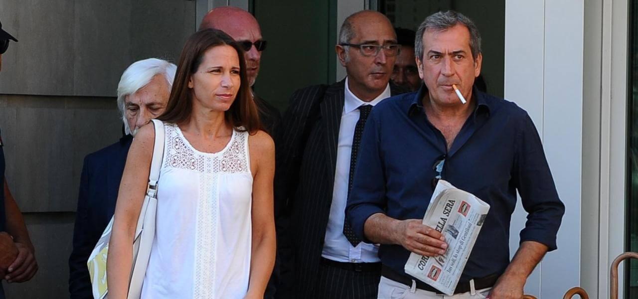 Ezio Denti e la moglie di Bossetti