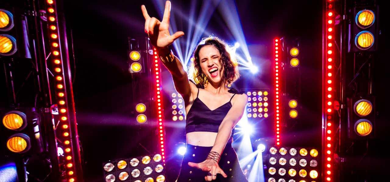 Lodovica Comello alla finale di Italia's Got Talent