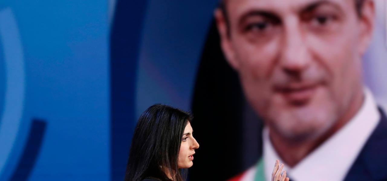 Virginia Raggi e Marcello De Vito