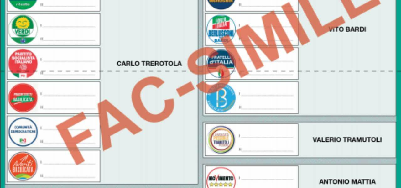 Elezioni Regionali Basilicata