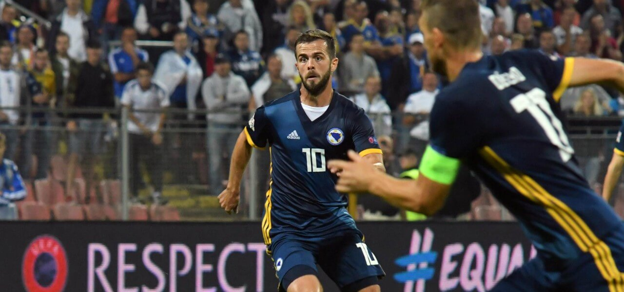 DIRETTA/ Grecia Bosnia (risultato 1-1) streaming video tv: palo di ...
