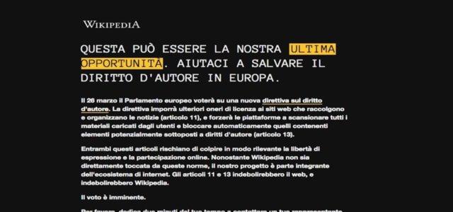 wikipedia italia sito oscurato 640x300
