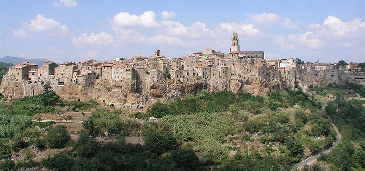 Pitigliano, in Toscana
