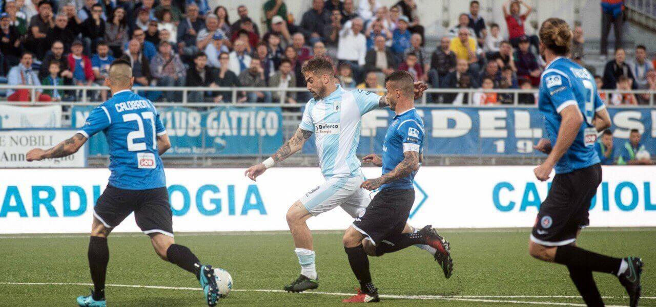 La Mantia Entella Novara lapresse 2019