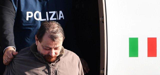 Cesare Battisti, l'arresto