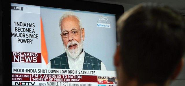 premier Modi annuncia successo test anti-satellite