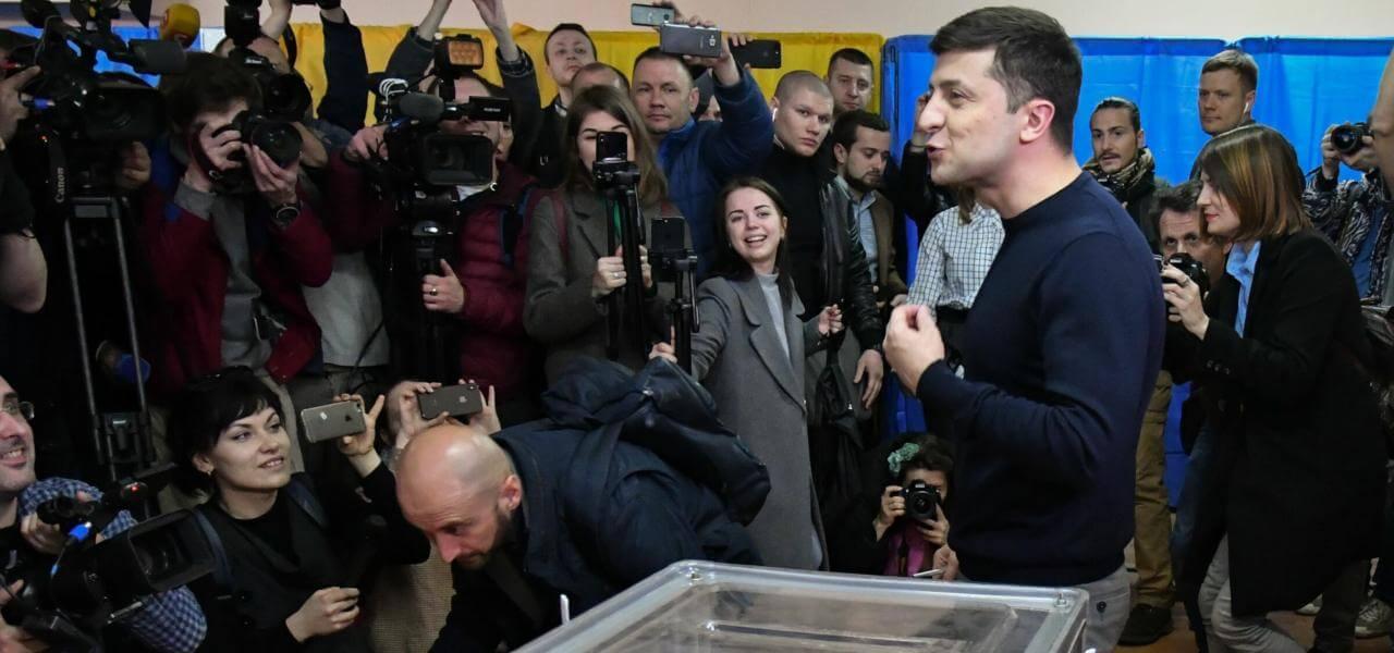 Elezioni Ucraina, il candidato-comico