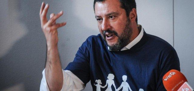 Congresso Famiglie, Salvini