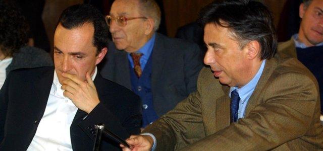 Daniele Luttazzi e Carlo Freccero
