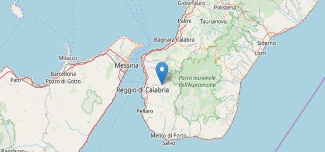 Ingv, Terremoto Reggio Calabria