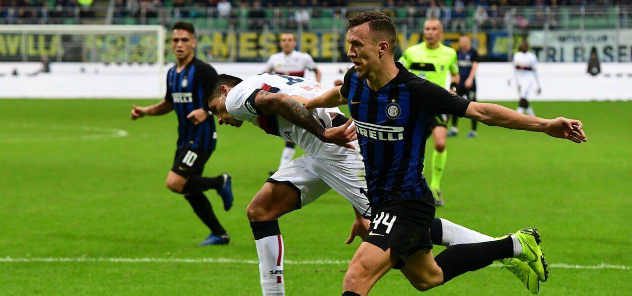 Perisic Romero Inter Genoa lapresse 2019