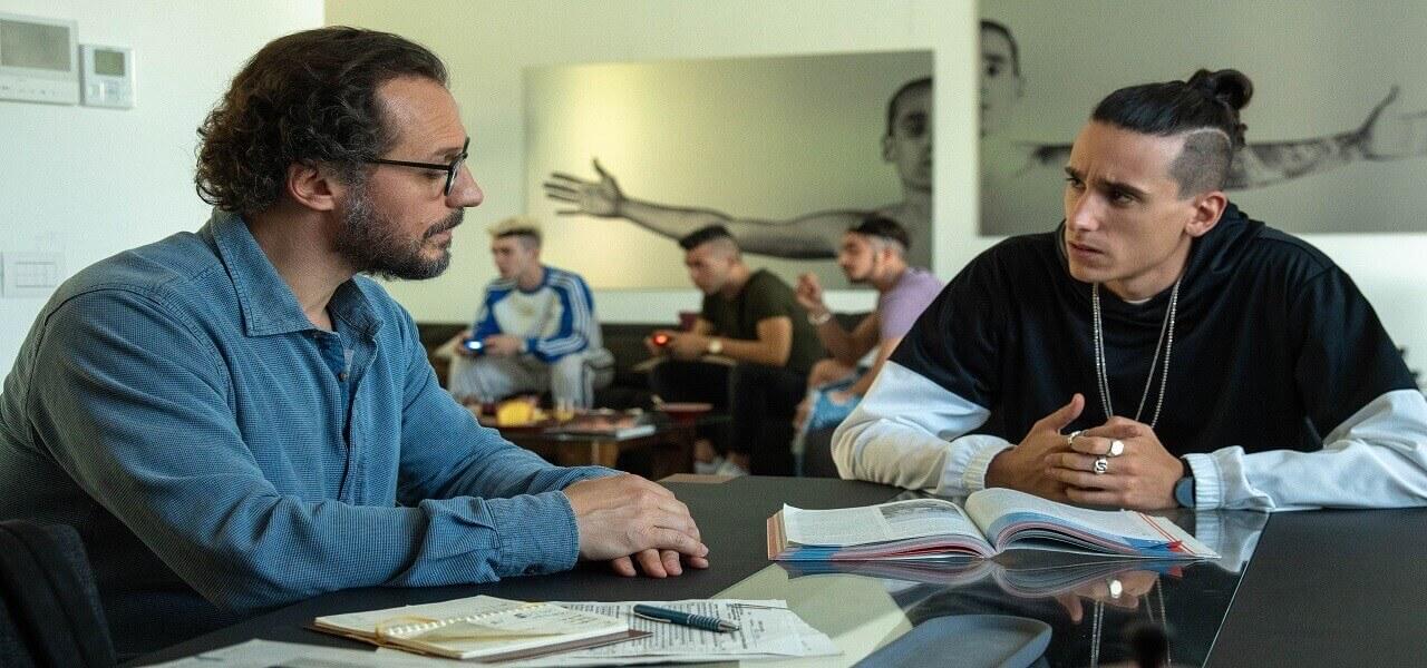 """""""Il campione"""", una scena del film con Stefano Accorsi"""