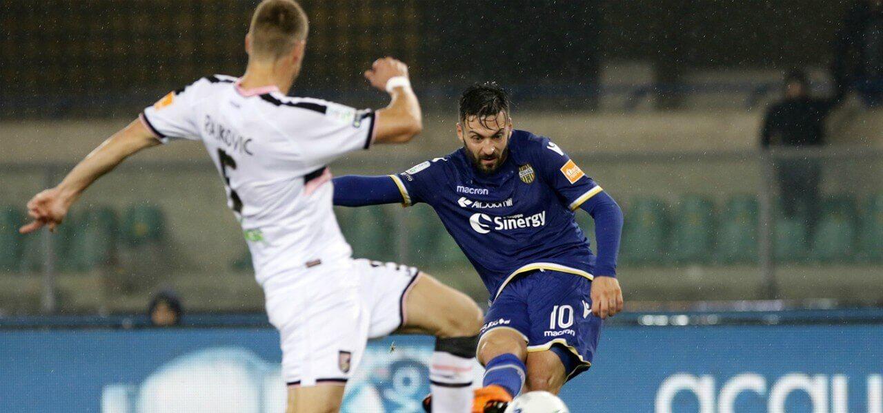 Di Carmine Rajkovic Verona Palermo lapresse 2019