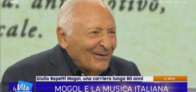 """Mogol a """"La Vita in Diretta"""""""