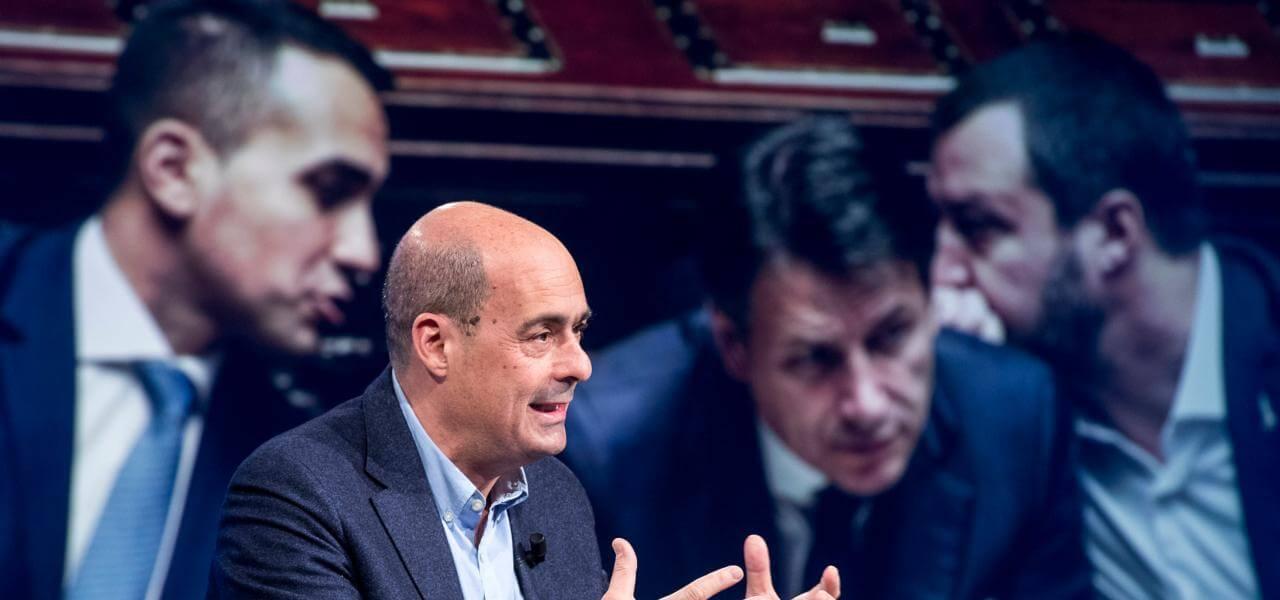 Zingaretti e il governo