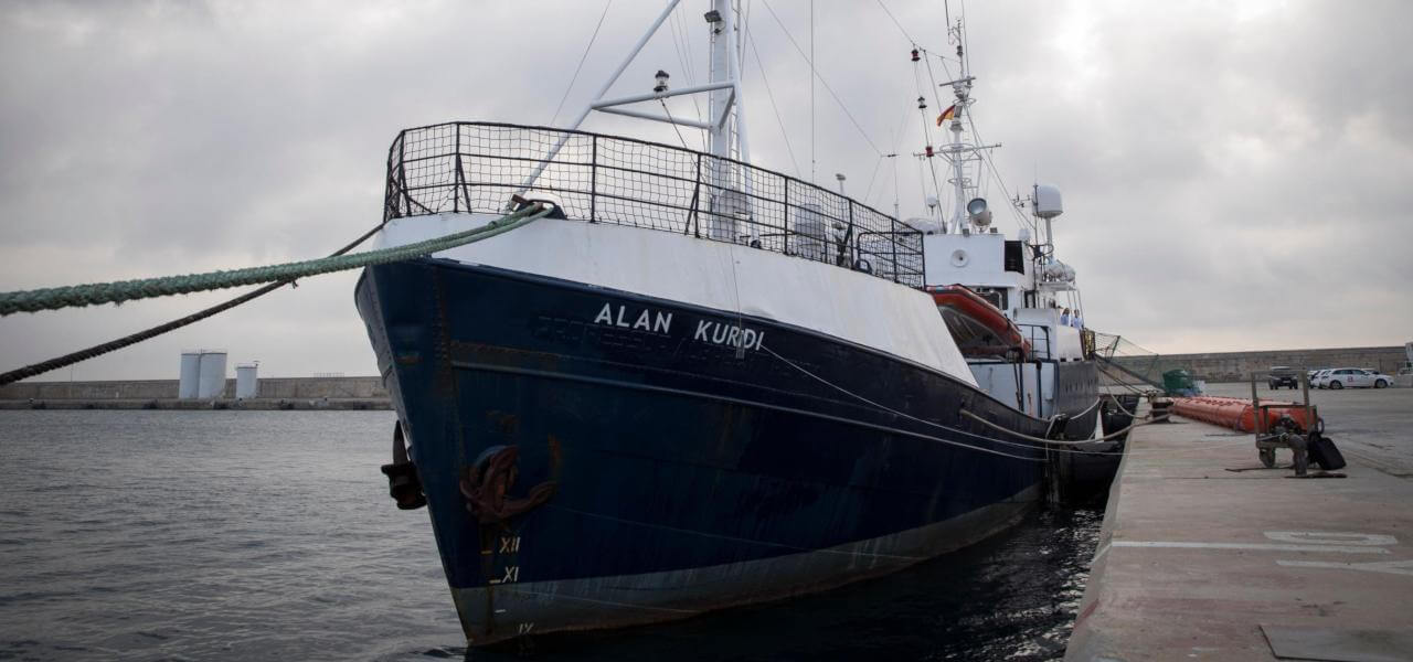 Alan Kurdi migranti tirrenia