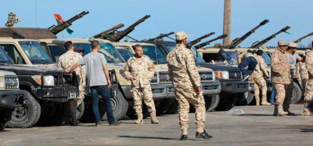 Forze Haftar vicino Tripoli