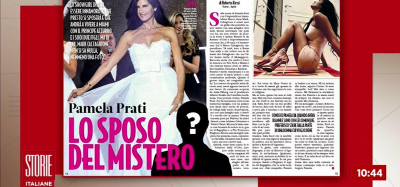 Pamela Prati, giallo sul matrimonio con Mark Caltagirone