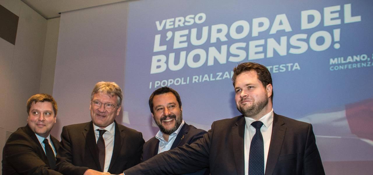 Salvini coi sovranisti di Afd, Finn Party e Partito Popolare danese