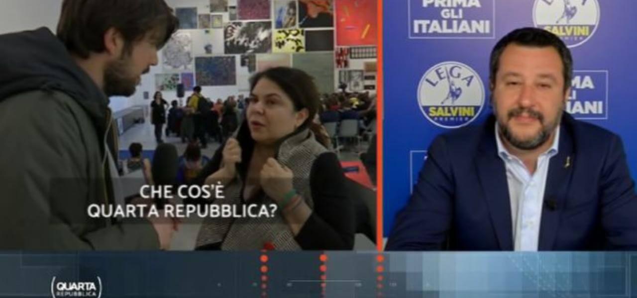 Michela Murgia e Salvini