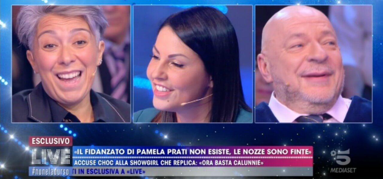 """Marco Caltagirone/ """"Io e Pamela Prati siamo una famiglia, è l'ultima ..."""