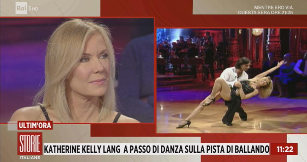 Katherine Kelly Lang a Storie Italiane