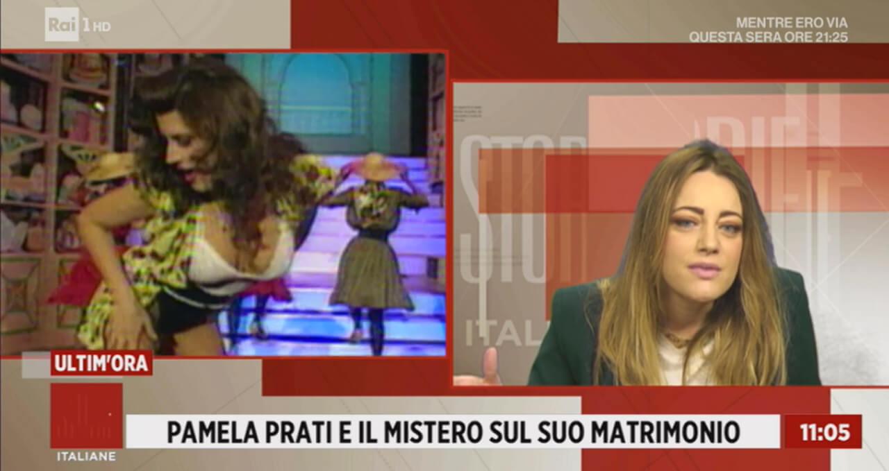 Pamela Prati, Storie Italiane