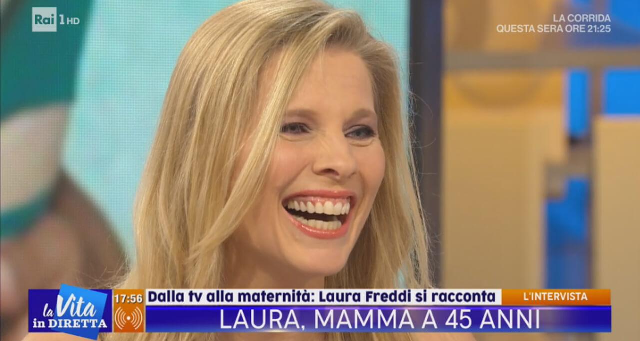 Laura Freddi, La Vita in Diretta