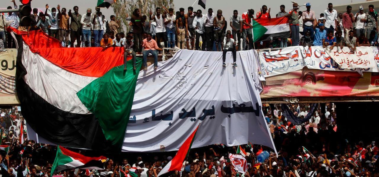 Piazza in Sudan
