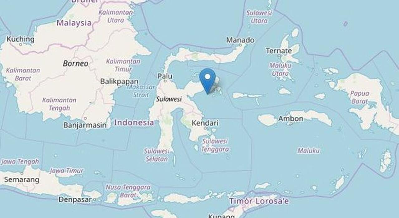 Terremoto Indonesia, Sulawesi