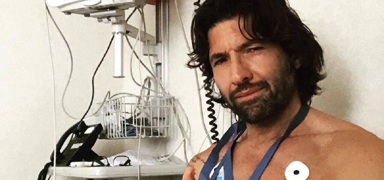 walter nudo ospedale instagram