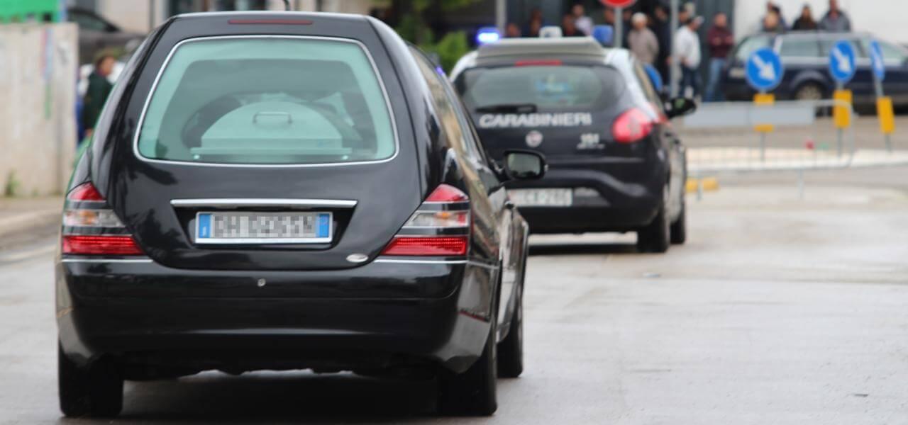 Il carabiniere ucciso a Foggia