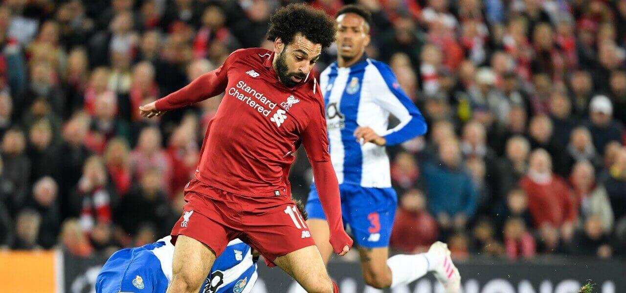 Salah Liverpool Porto lapresse 2019