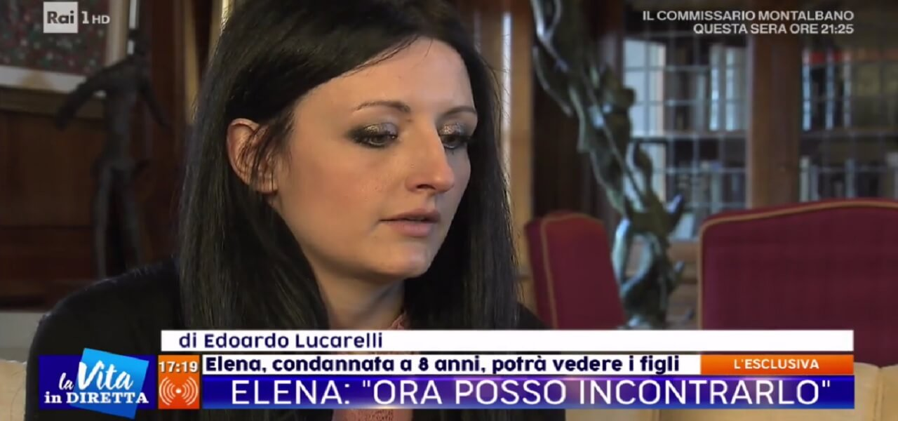 Elena Perotti, ex di William Pezzulo