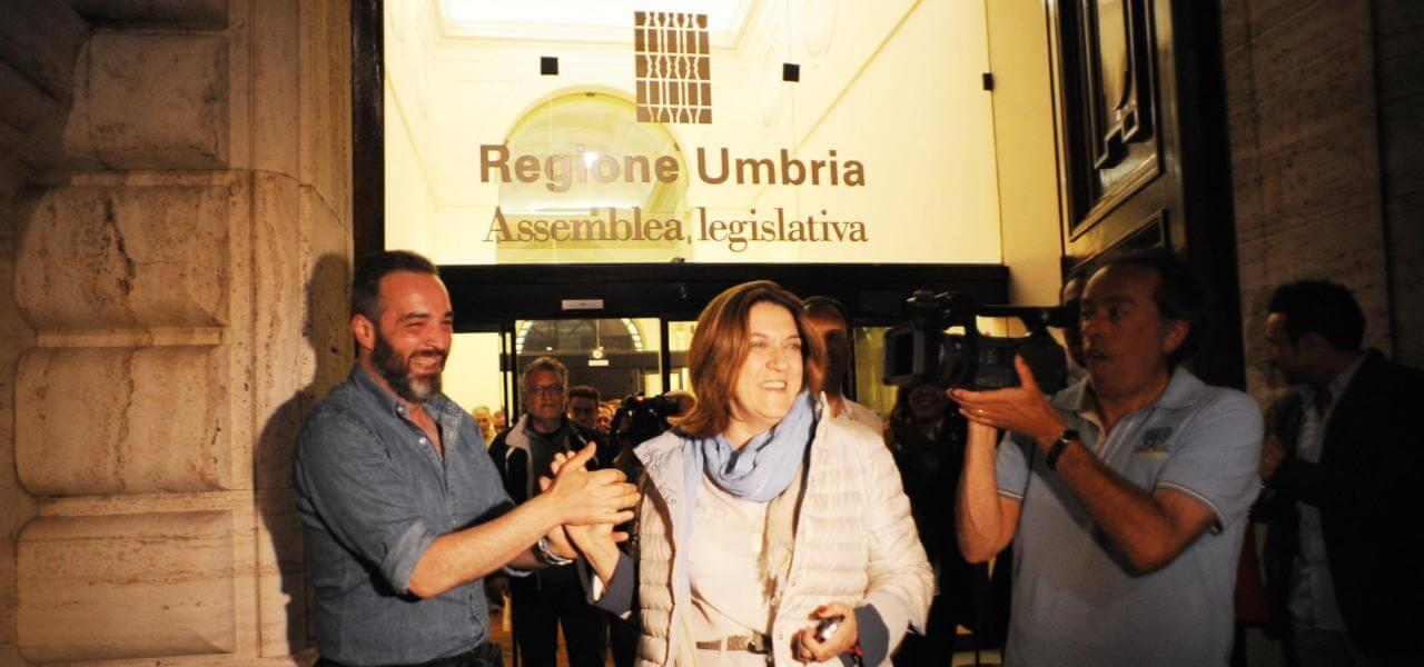 Regione Umbria, Catiuscia Marini