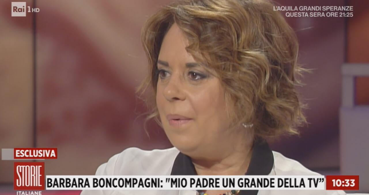 Barbara Boncompagni a Storie Italiane