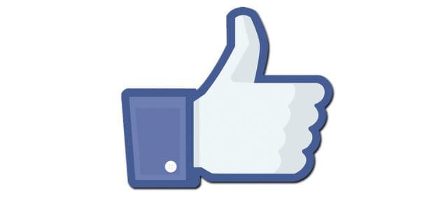 """Il """"like"""" su Facebook"""