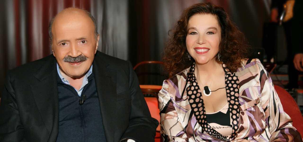 Maurizio Costanzo e Stefania Sandrelli