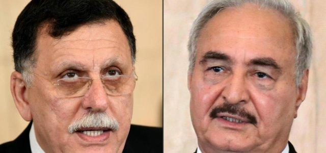 Libia, Al Sarraj vs Haftar