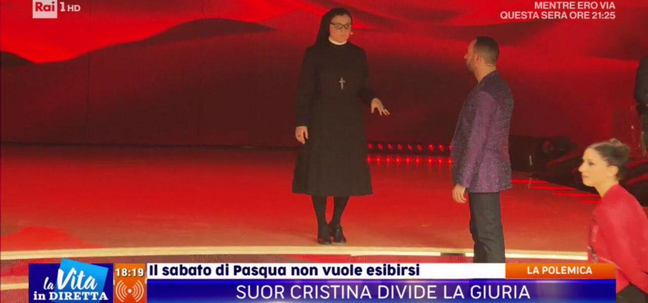 Suor Cristina a Ballando con le Stelle