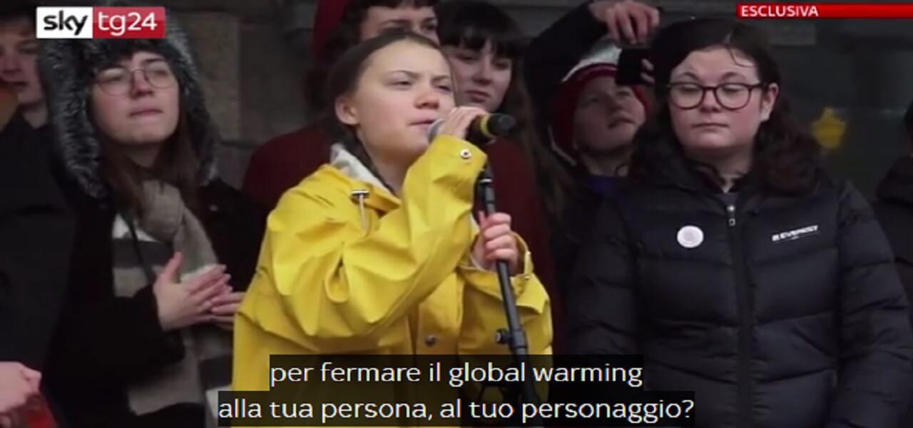 greta thunberg fridays for future roma