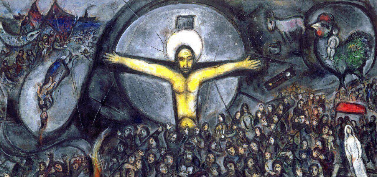 chagall cristo exodus 1966arte1280