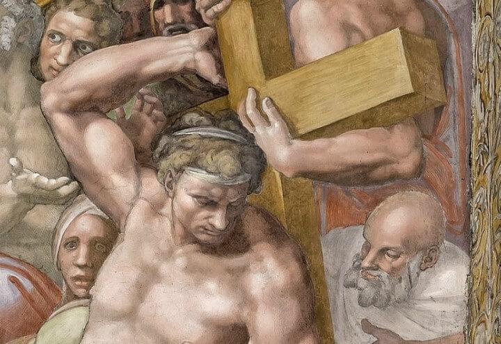 michelangelo cappellasistina buonladrone arte