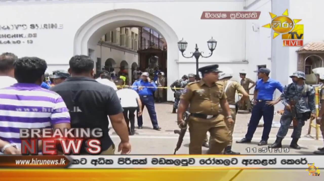 Sri Lanka, attentato: morti e feriti