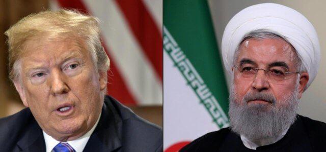 Trump e Rohani
