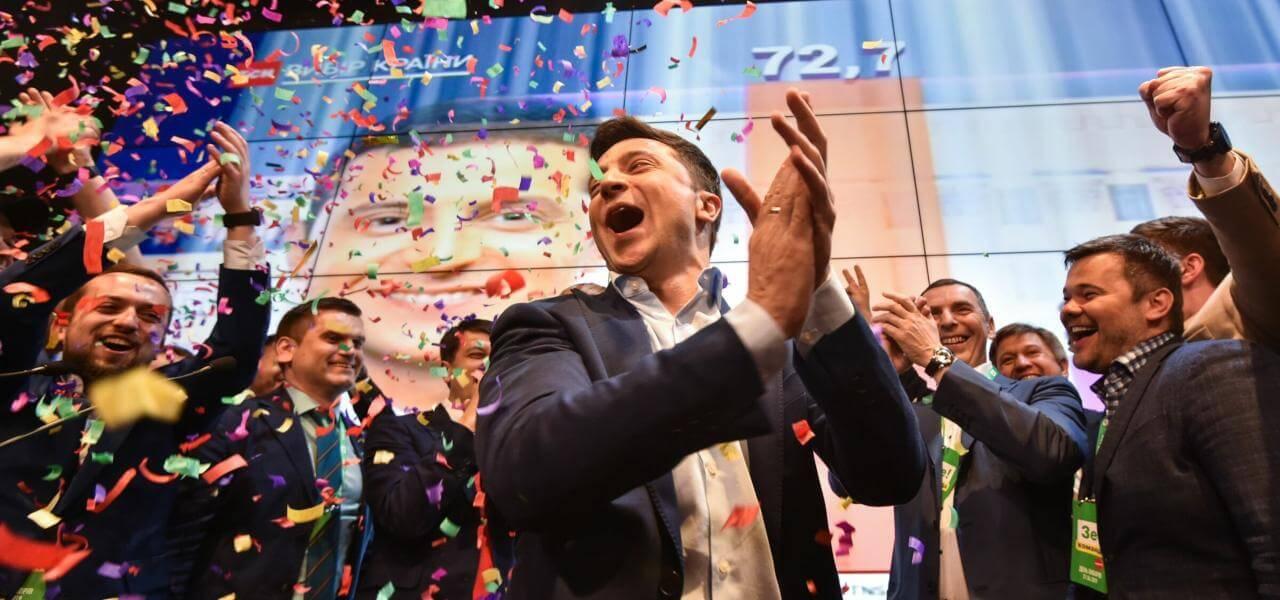 Zelensky vince in Ucraina
