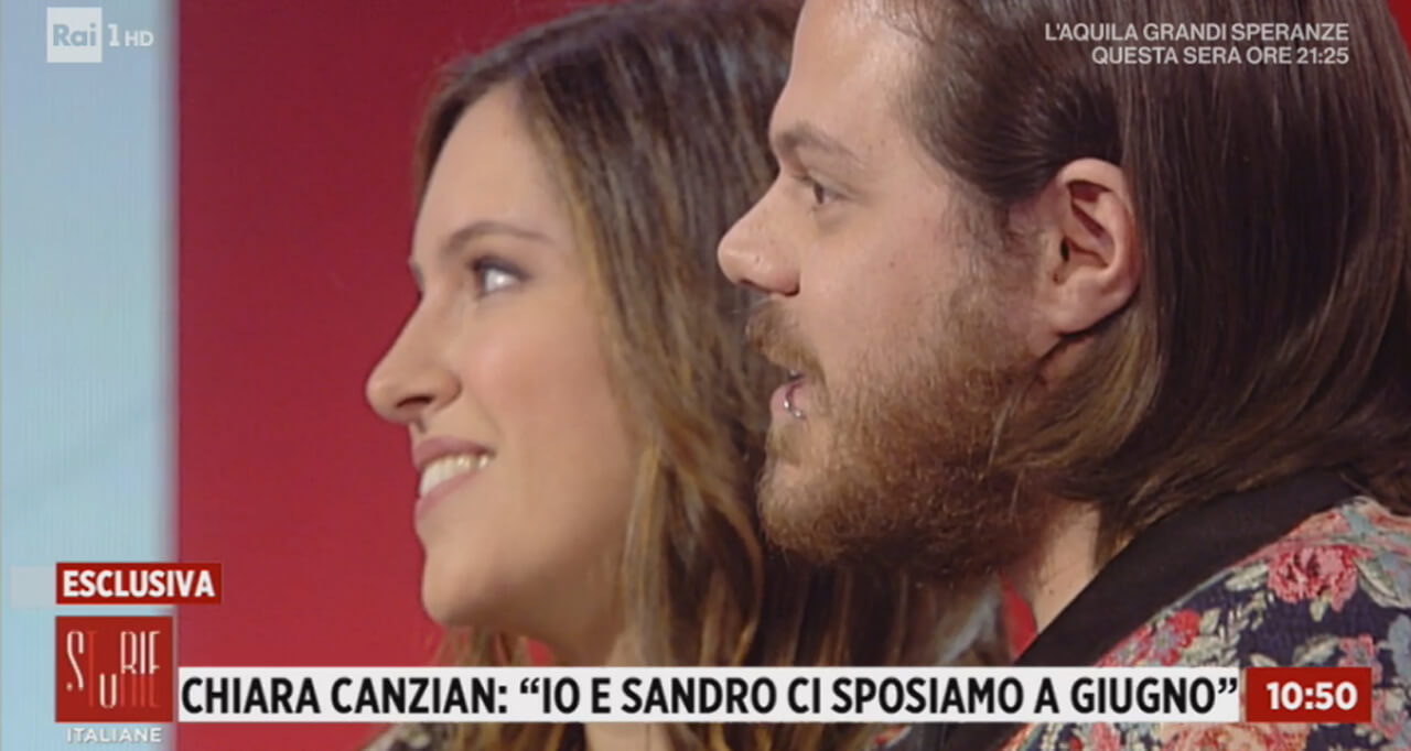 Chiara Canzian e Sandro Cesolla