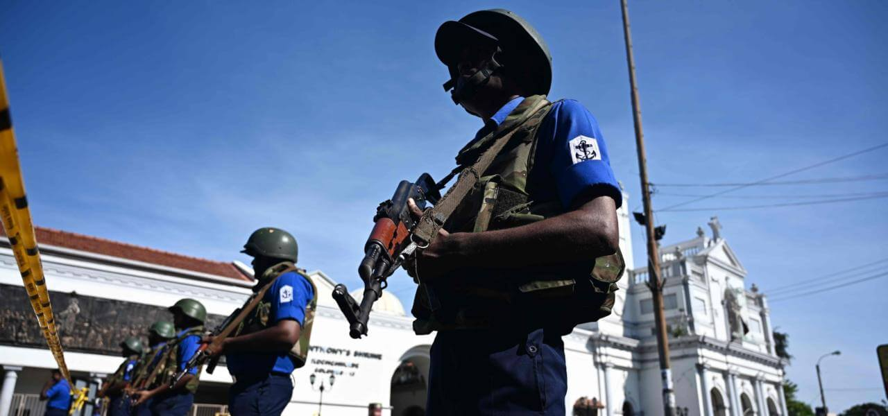 Attentati in Sri Lanka