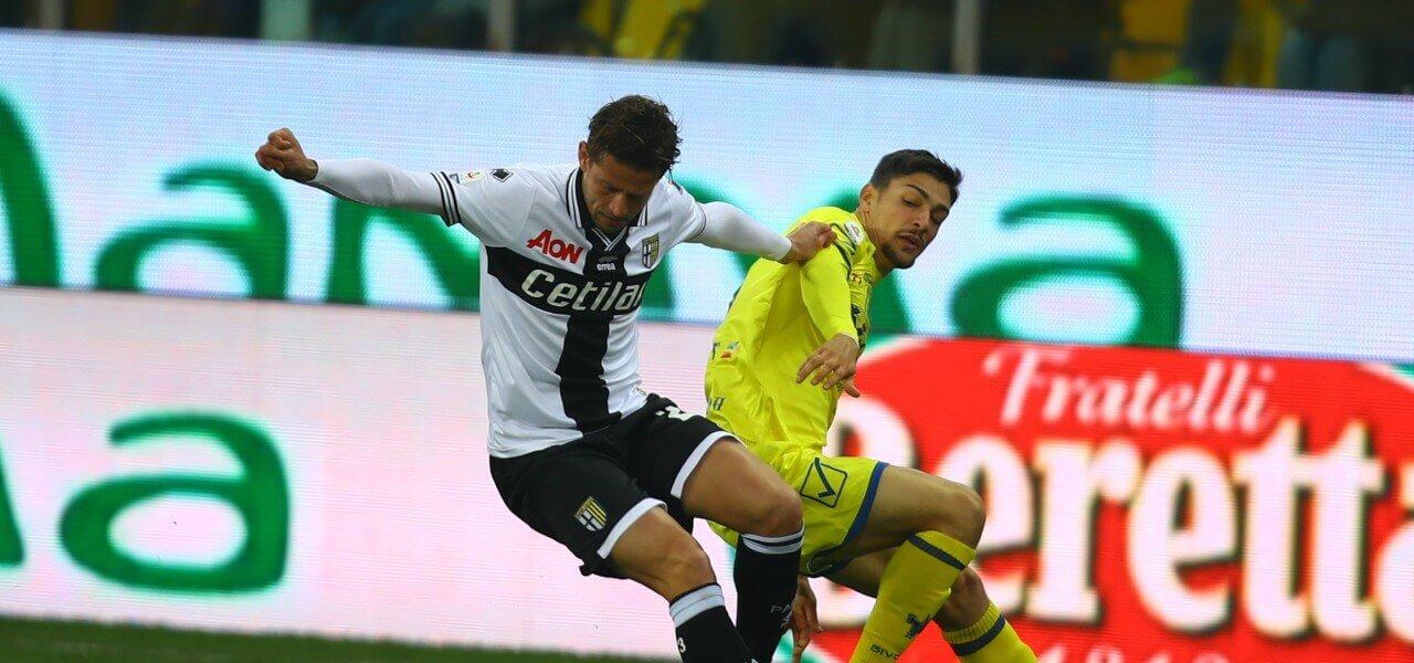 Gazzola Stepinski Parma Chievo lapresse 2019